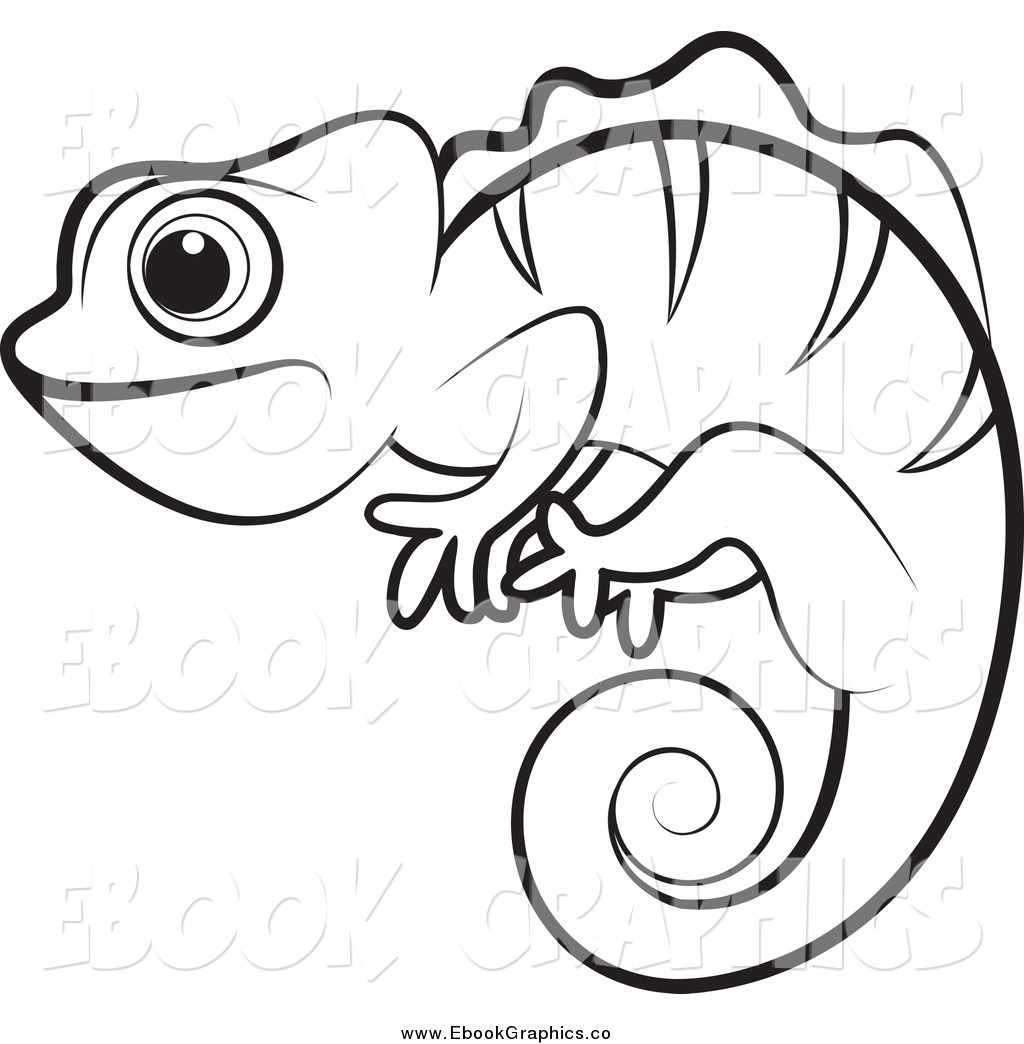 Panther Chameleon Clipart