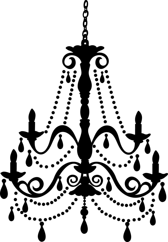 White Chandelier Clip Art 20 Free Cliparts
