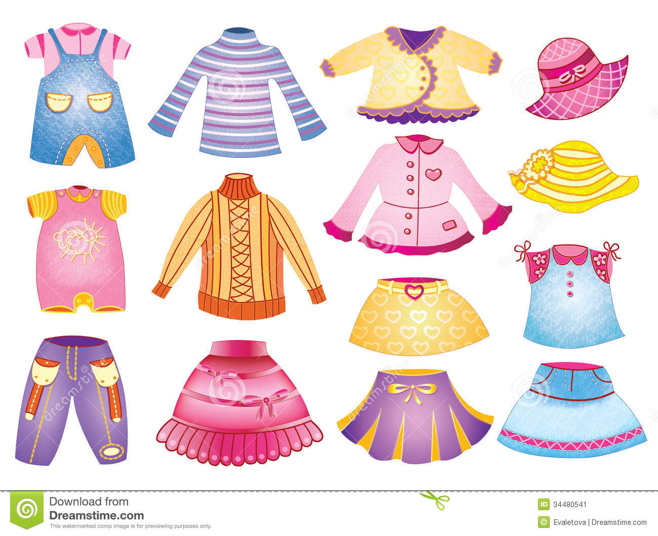 Children S Clothing Clipart 20 Free Cliparts