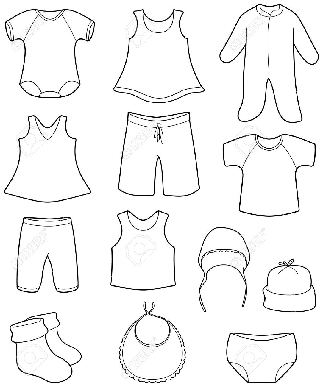 Children S Clothing Clipart