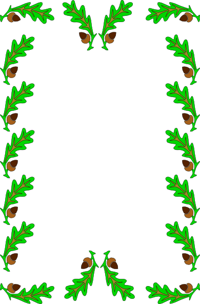 Leaf Frame Clipart Clipground