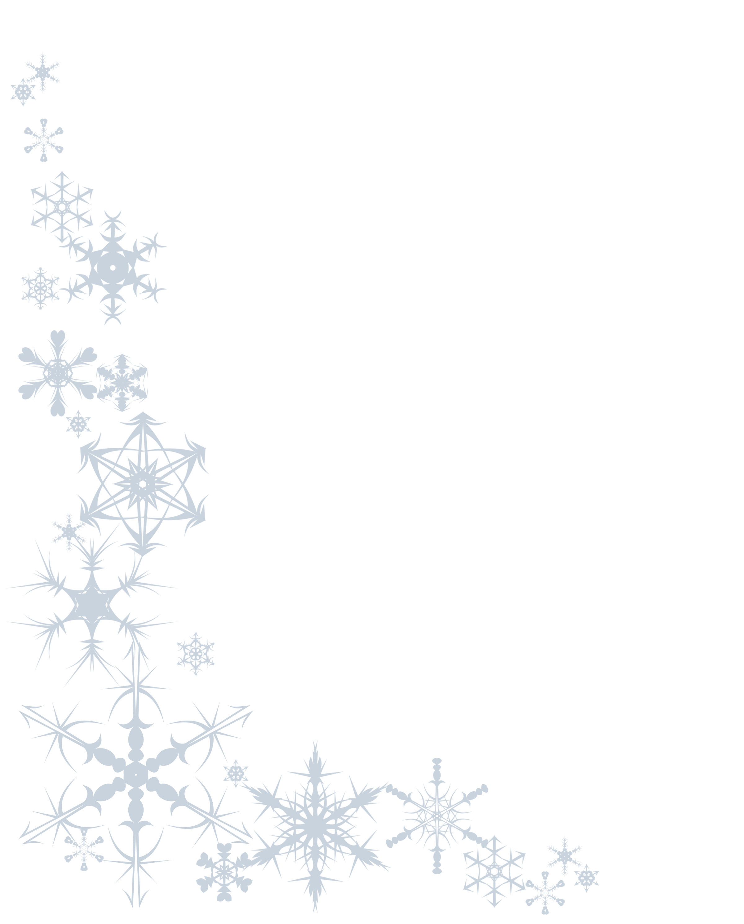 Christmas Snowflake Clipart Border 20 Free Cliparts
