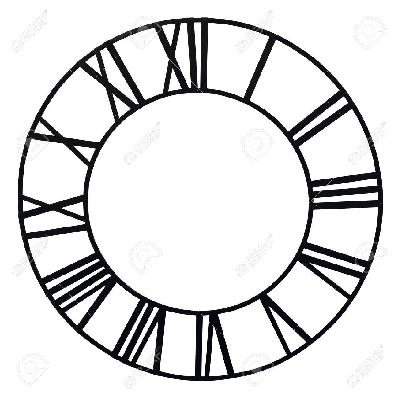Church Clock Clipart