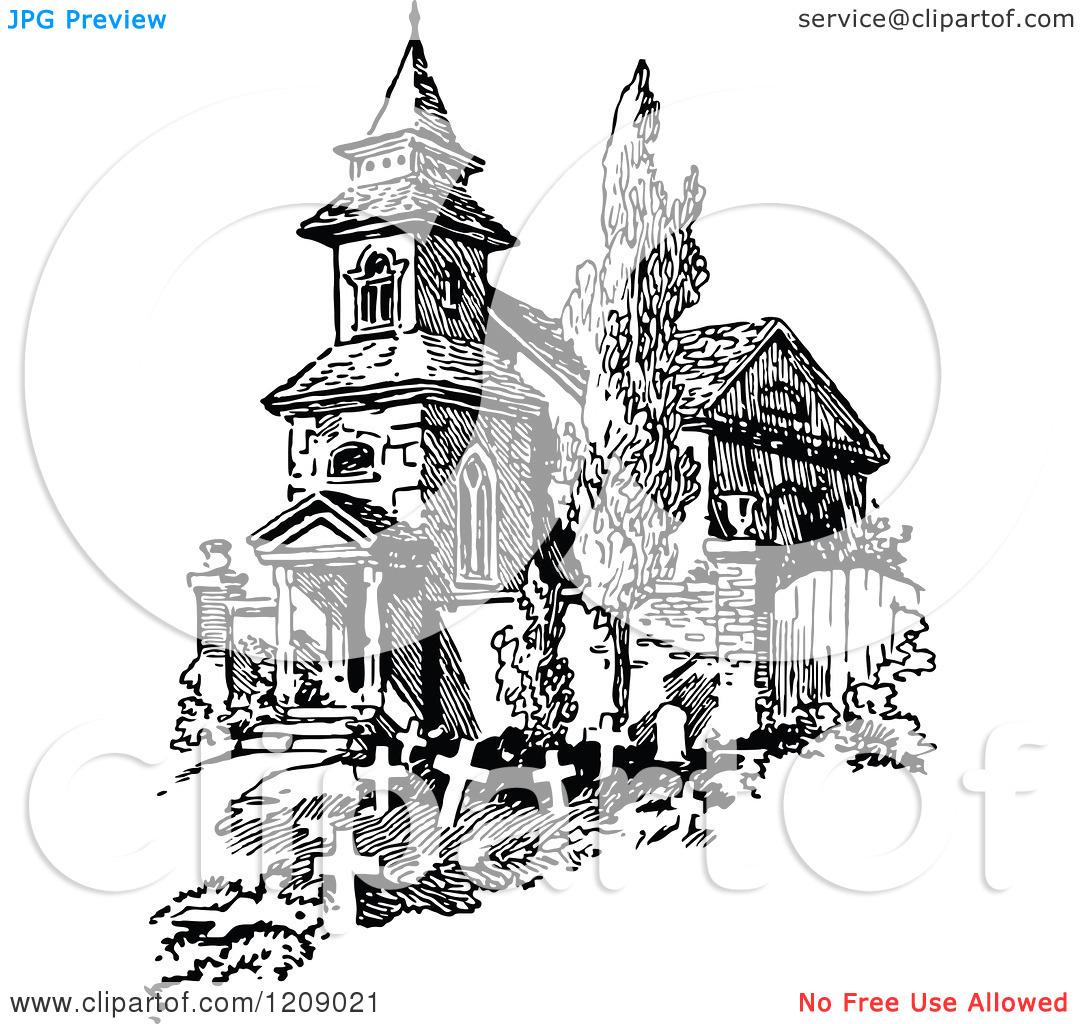 Church Graveyard Clipart