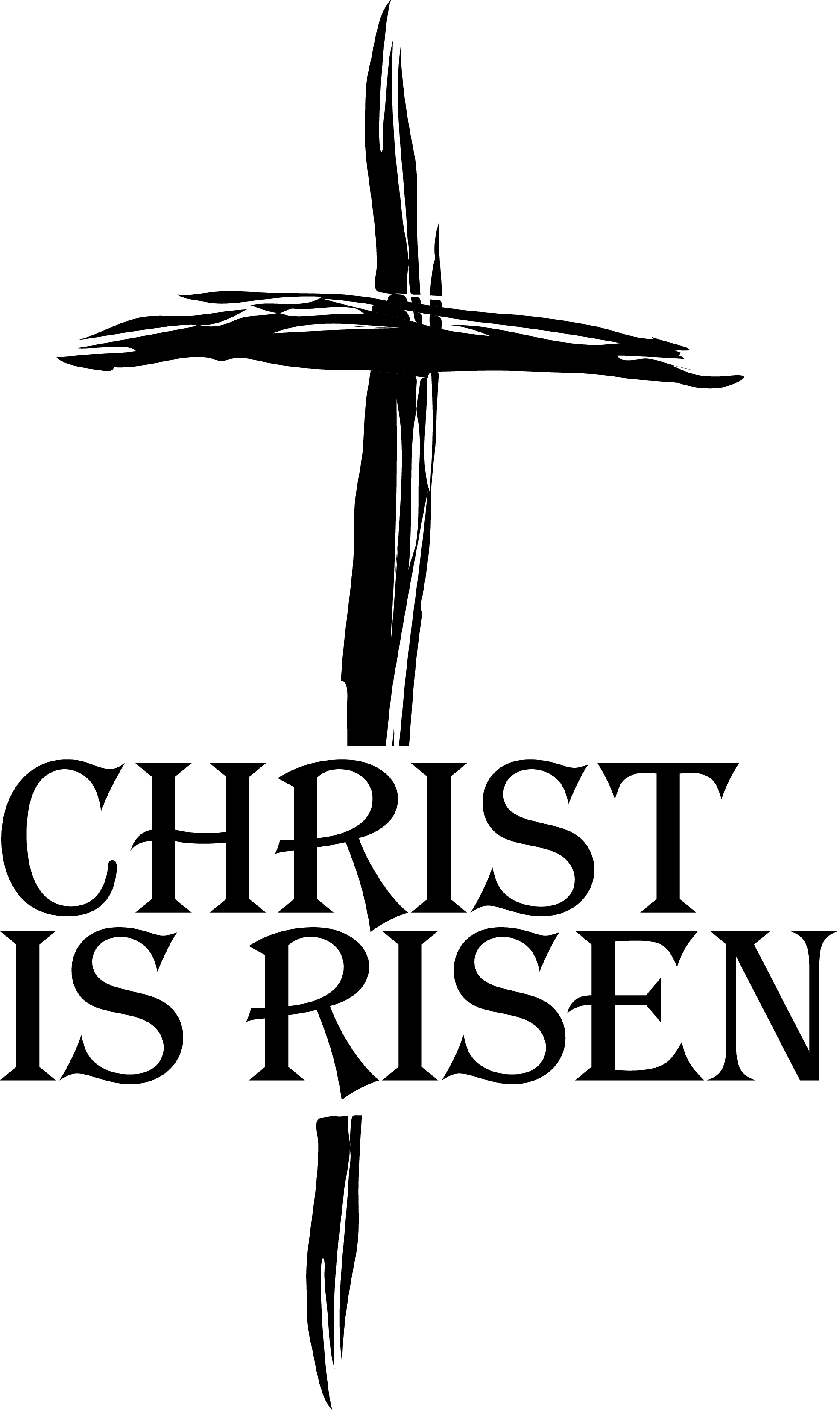 Black And White Christian Clipart