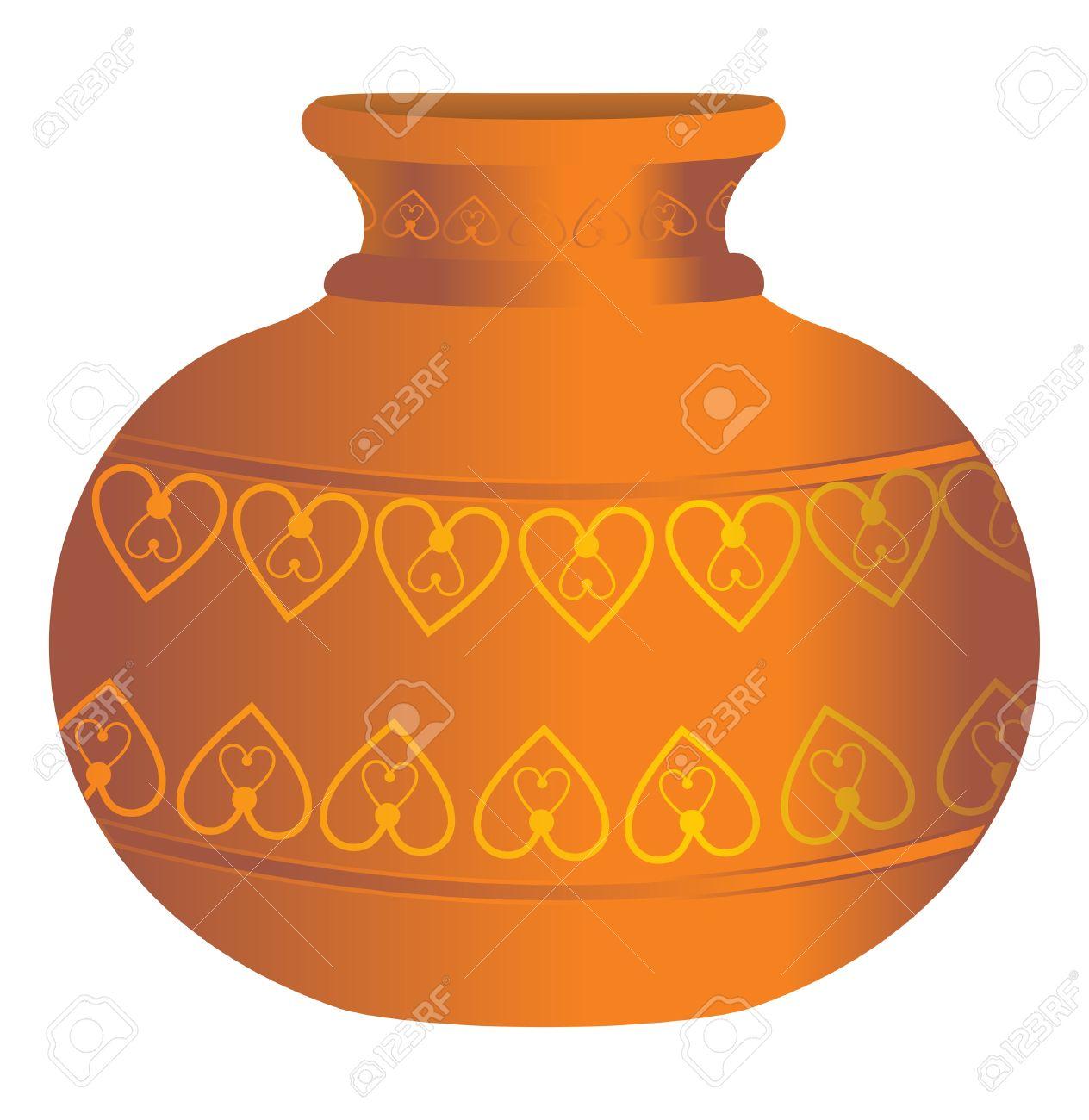 Earthen Flower Pot