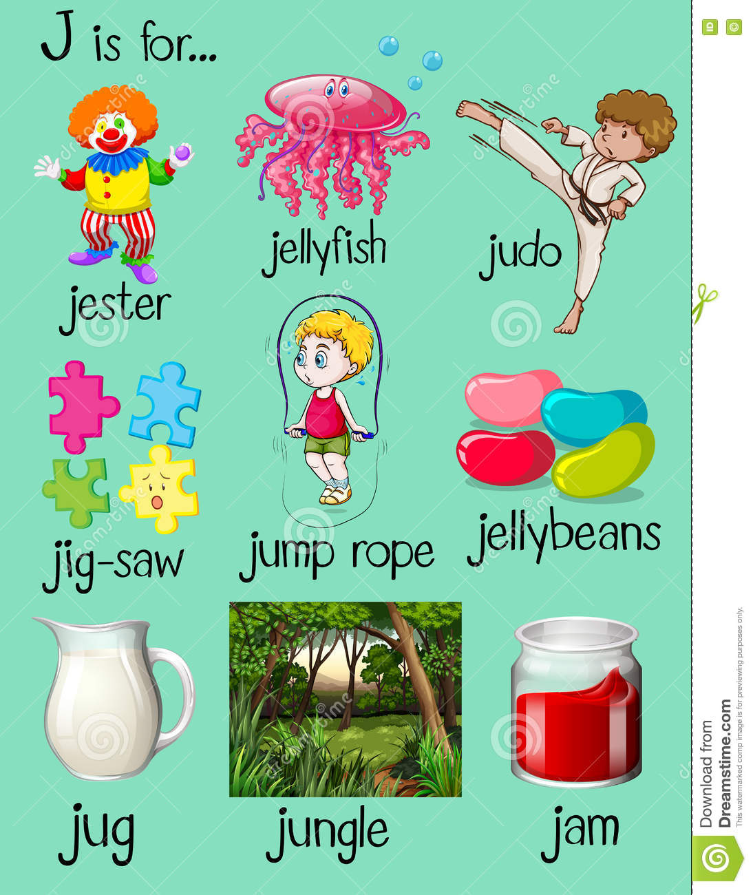 Clipart J Words 20 Free Cliparts