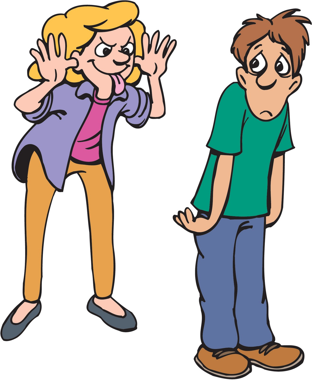 Clipart Of Bullying 20 Free Cliparts