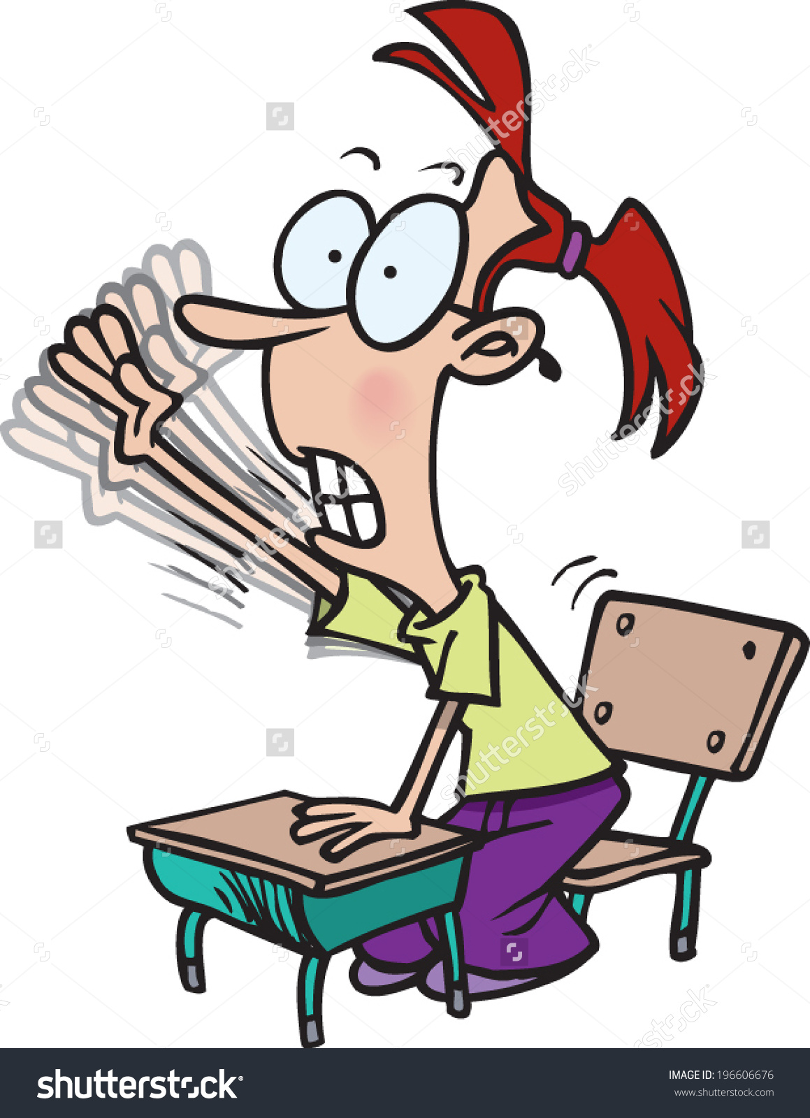 Clipart Teenager Raising Hand In Class 20 Free Cliparts