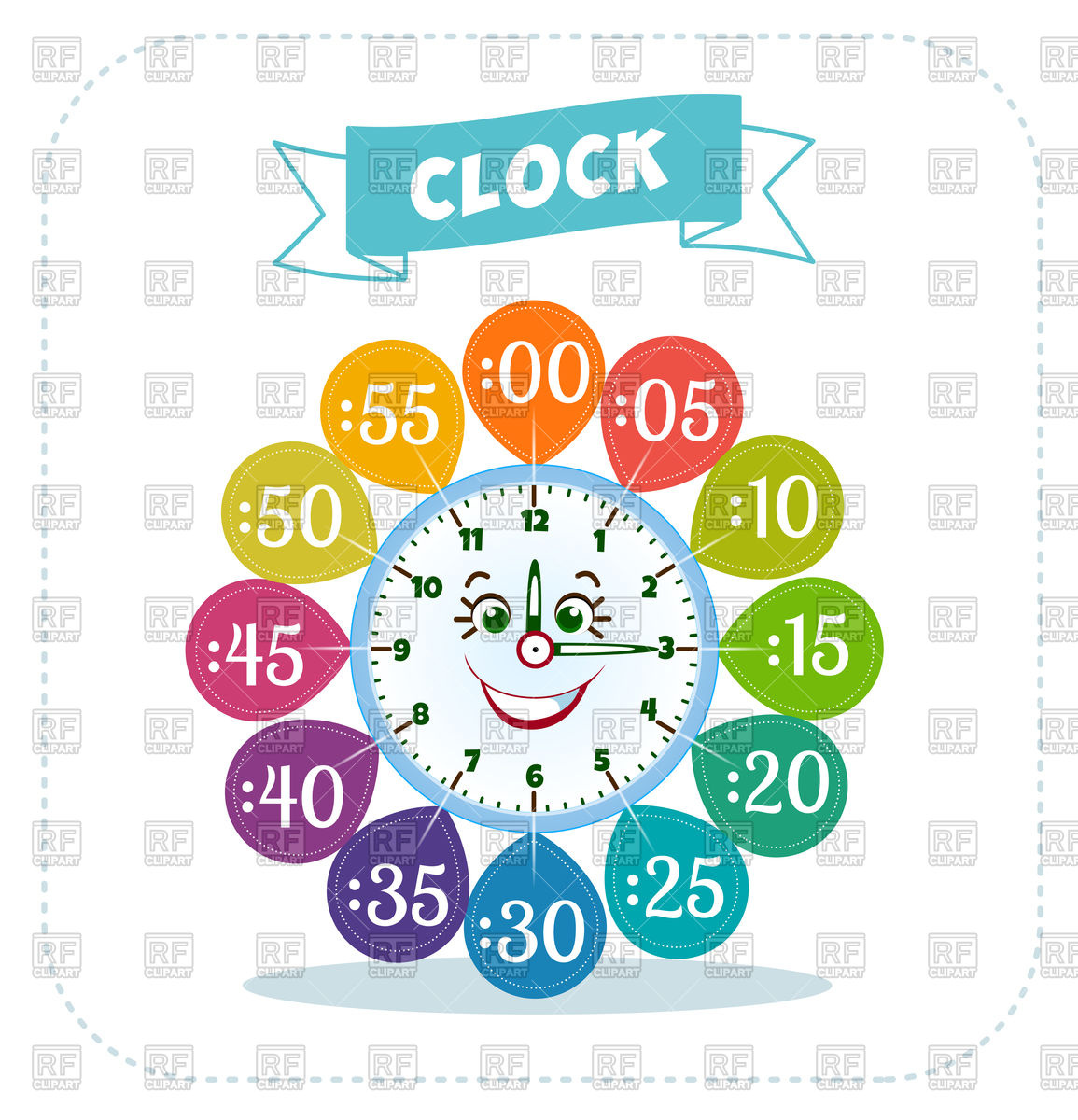 Clipart Telling Time 20 Free Cliparts