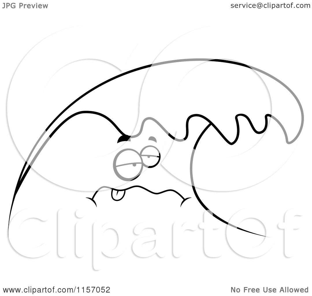 Clipart Waves Outline