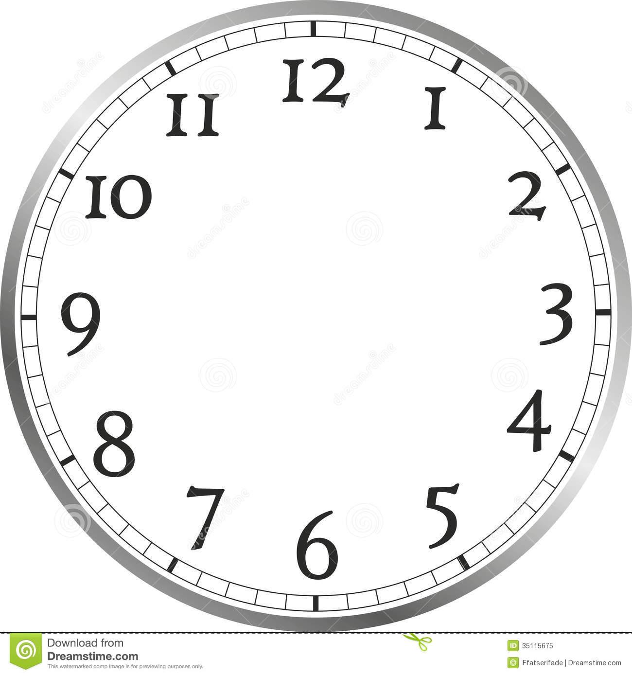 Face Clocks Clipart