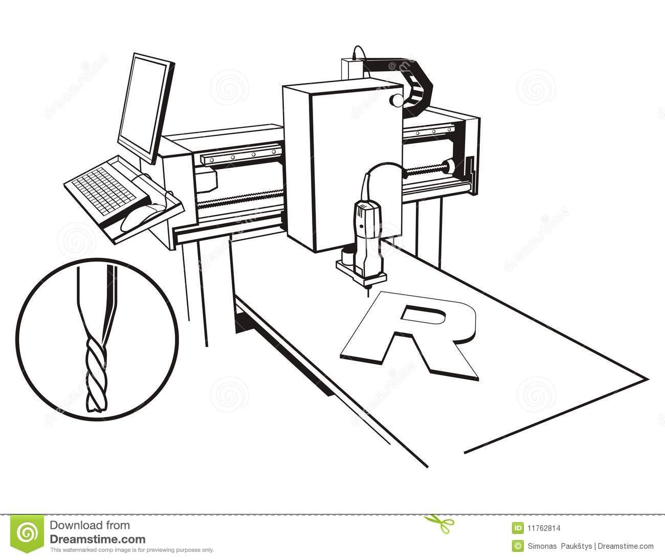 Cnc Cut Clipart