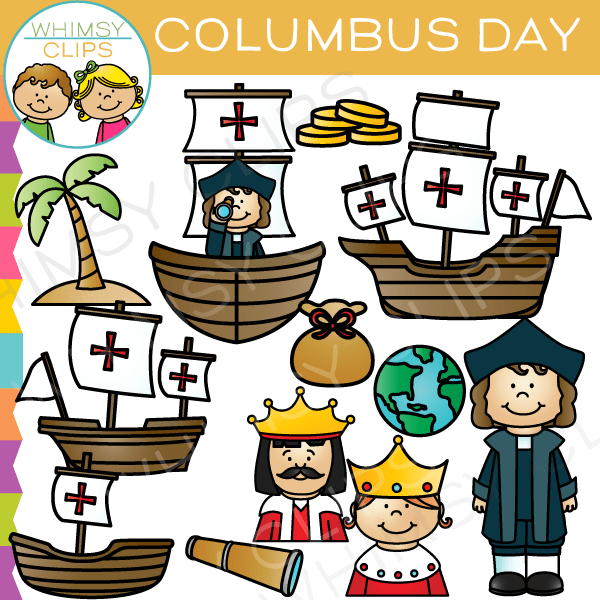 This page includes clip art images of queen isabella i and king ferdinand v, christopher columbus, the niña, … Columbus clipart 20 free Cliparts | Download images on ...