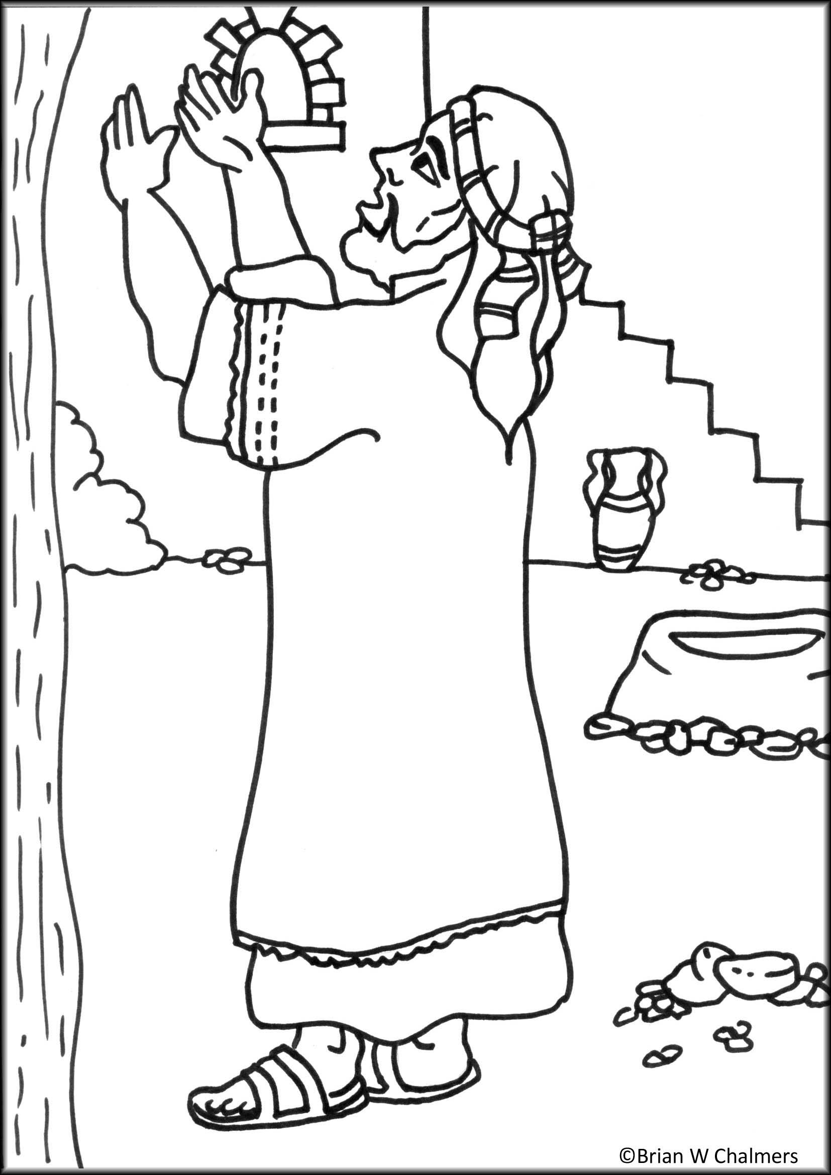Jesus Zacchaeus Clipart 20 Free Cliparts