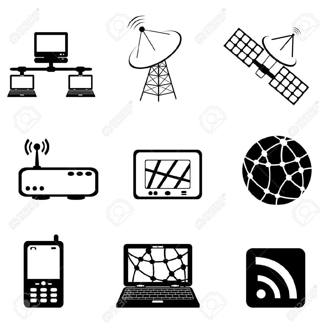 Communication Technology Clipart
