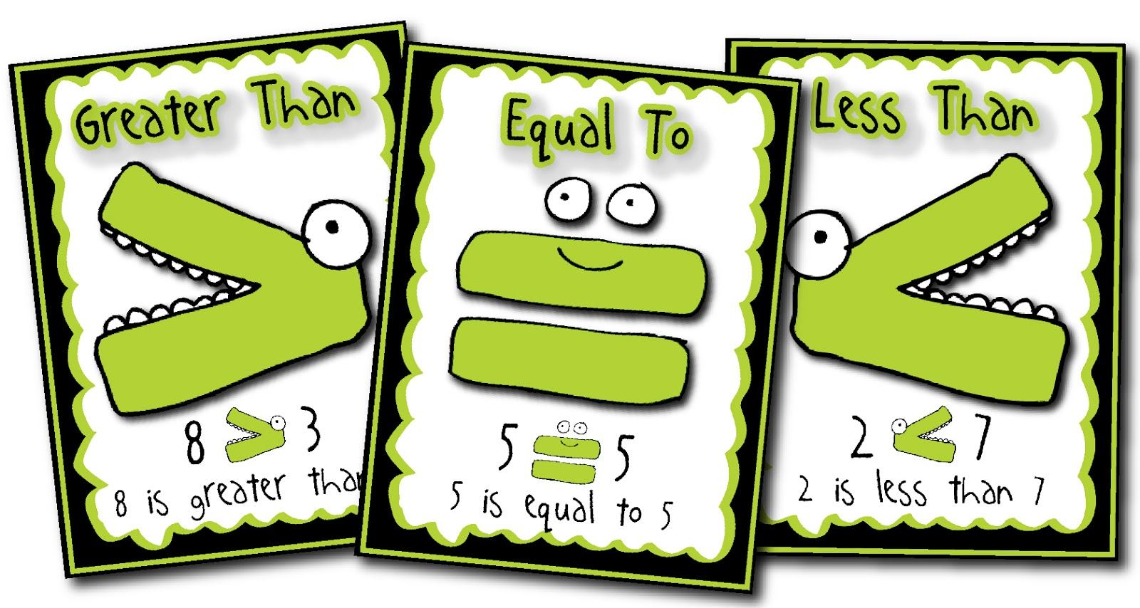 Comparing Numbers Clipart