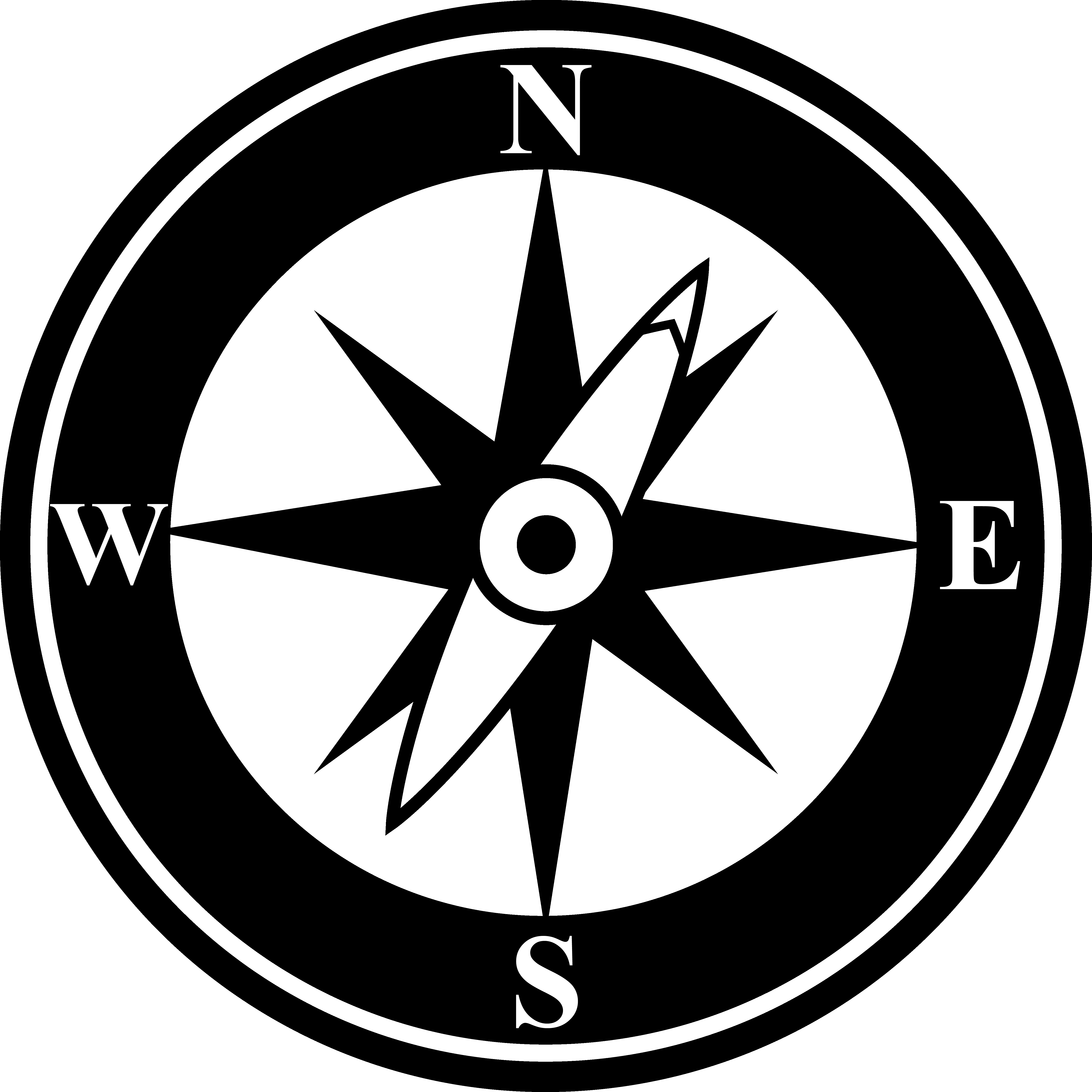 Compass Face Clipart Clipground