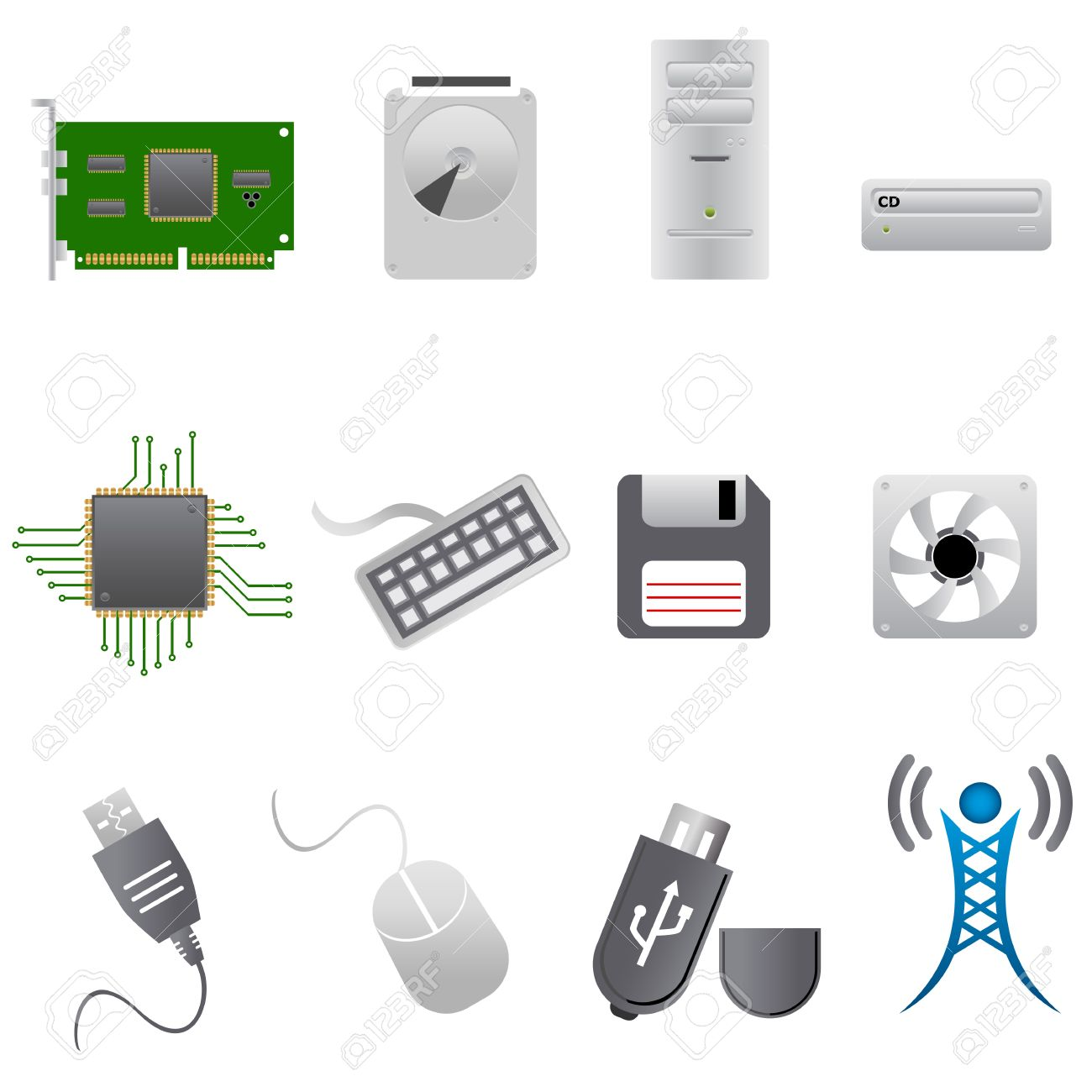 Computer Peripherals Clipart 20 Free Cliparts