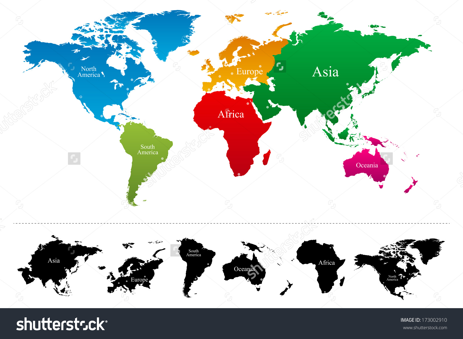Continents Clipart 20 Free Cliparts