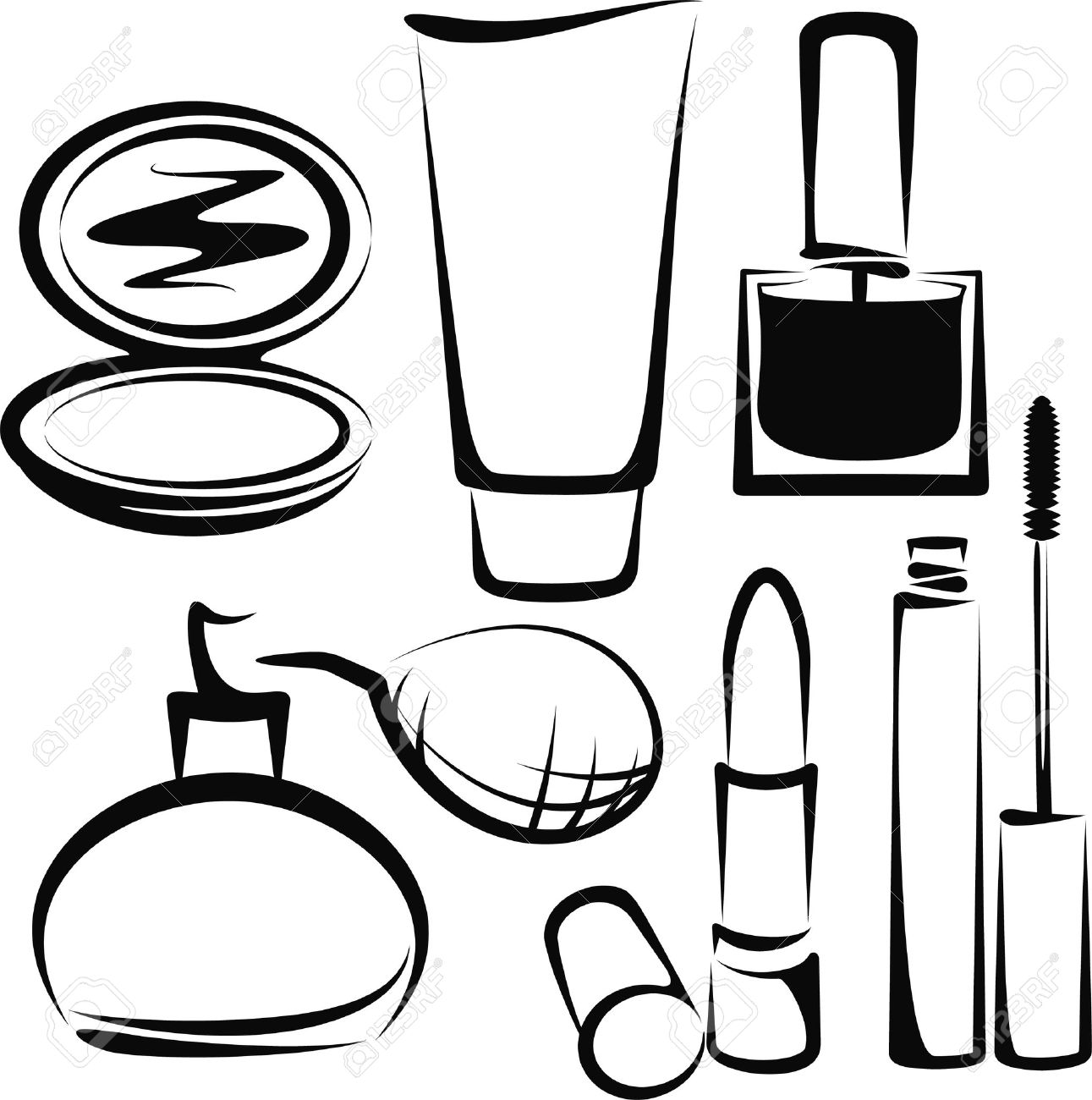 Cosmetic Clipart