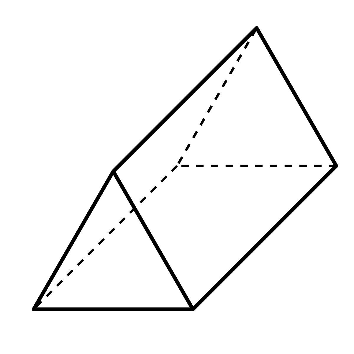 Cubic Prism Clipart