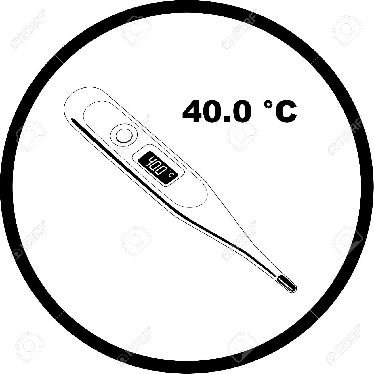 Degrees Celsius Clipart