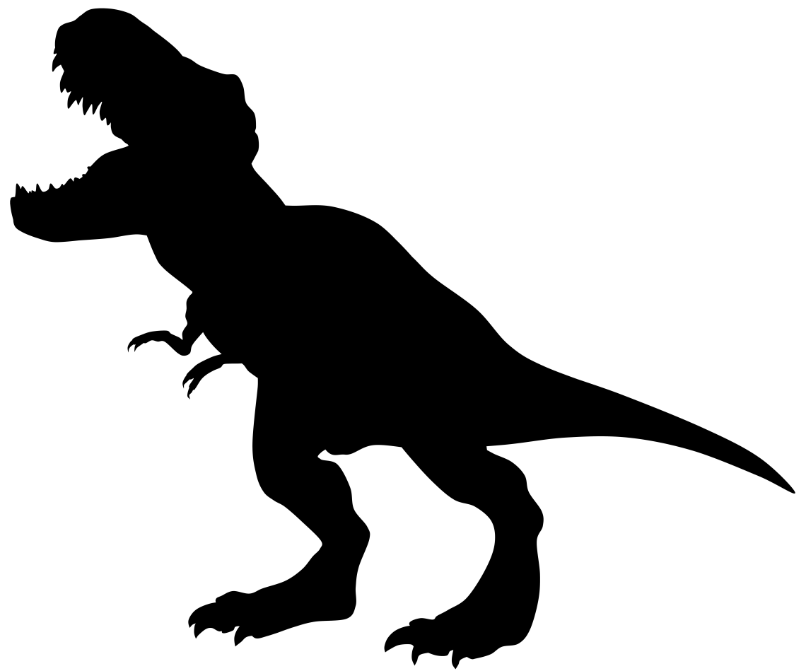 Download tyrannosaurus clipart silhouette 20 free Cliparts ...