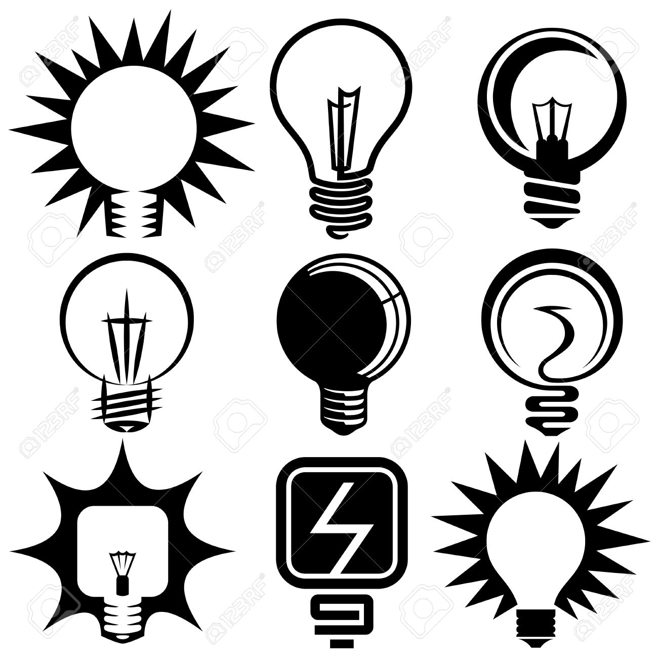 Electric Bulb Clipart