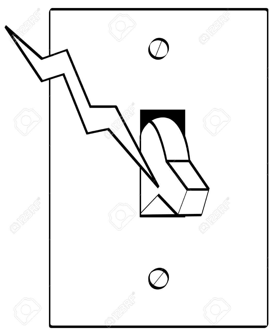 Electrical Switch Clipart