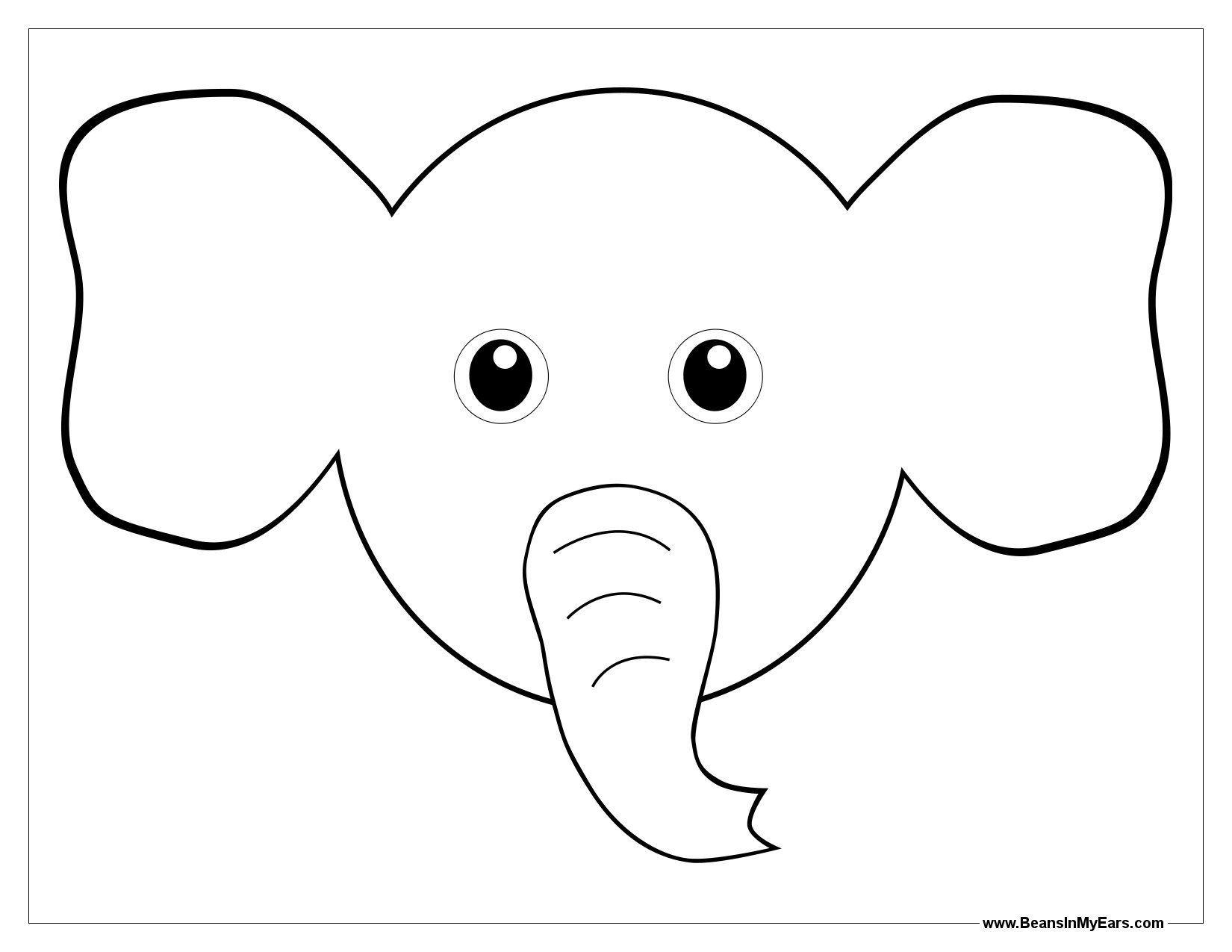 Elephant Ears Clipart
