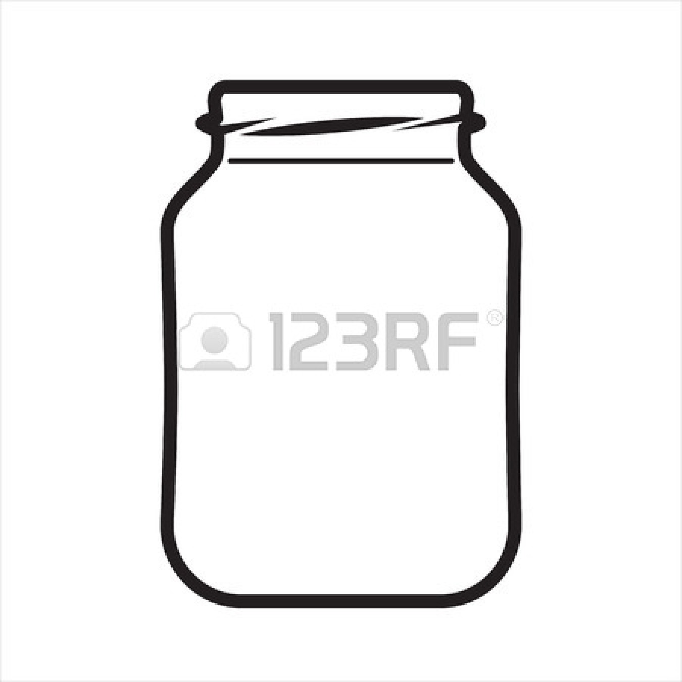 Empty Jar Clipart