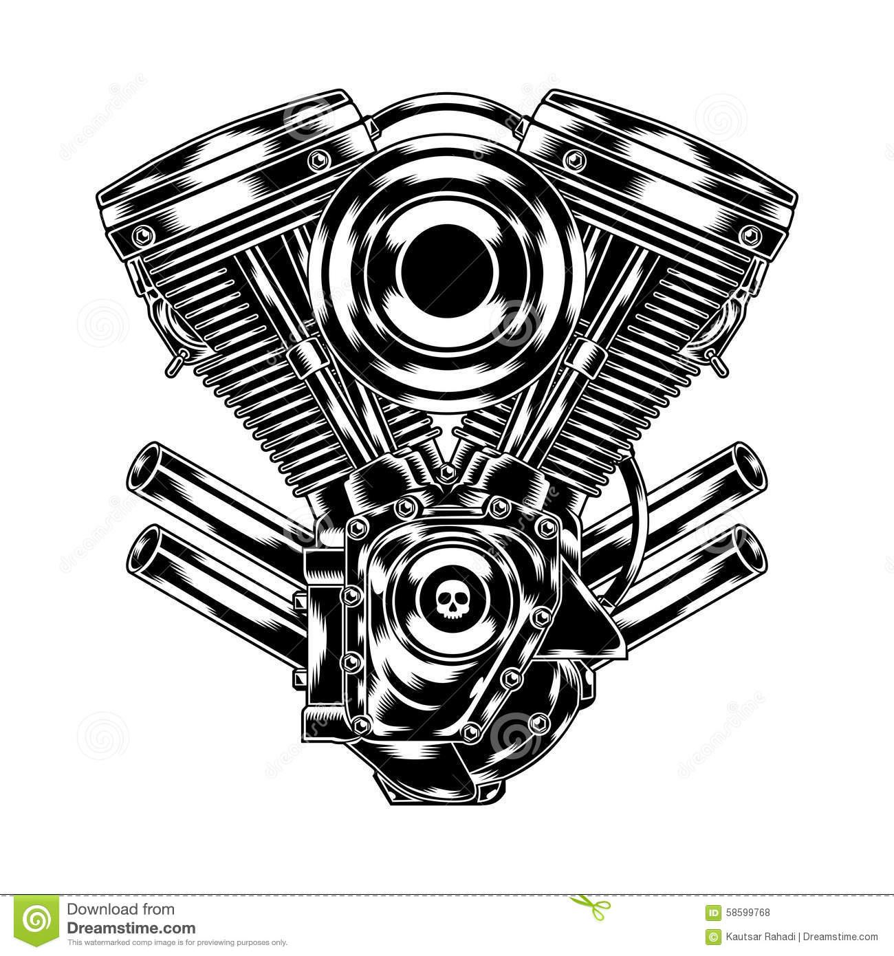 Engine Block Clipart
