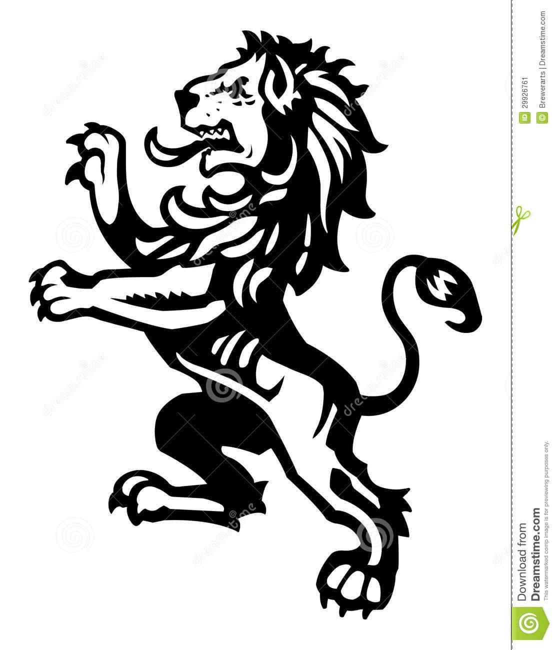 England S Lion Clipart