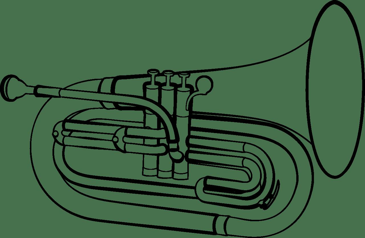 Euphonium Clipart
