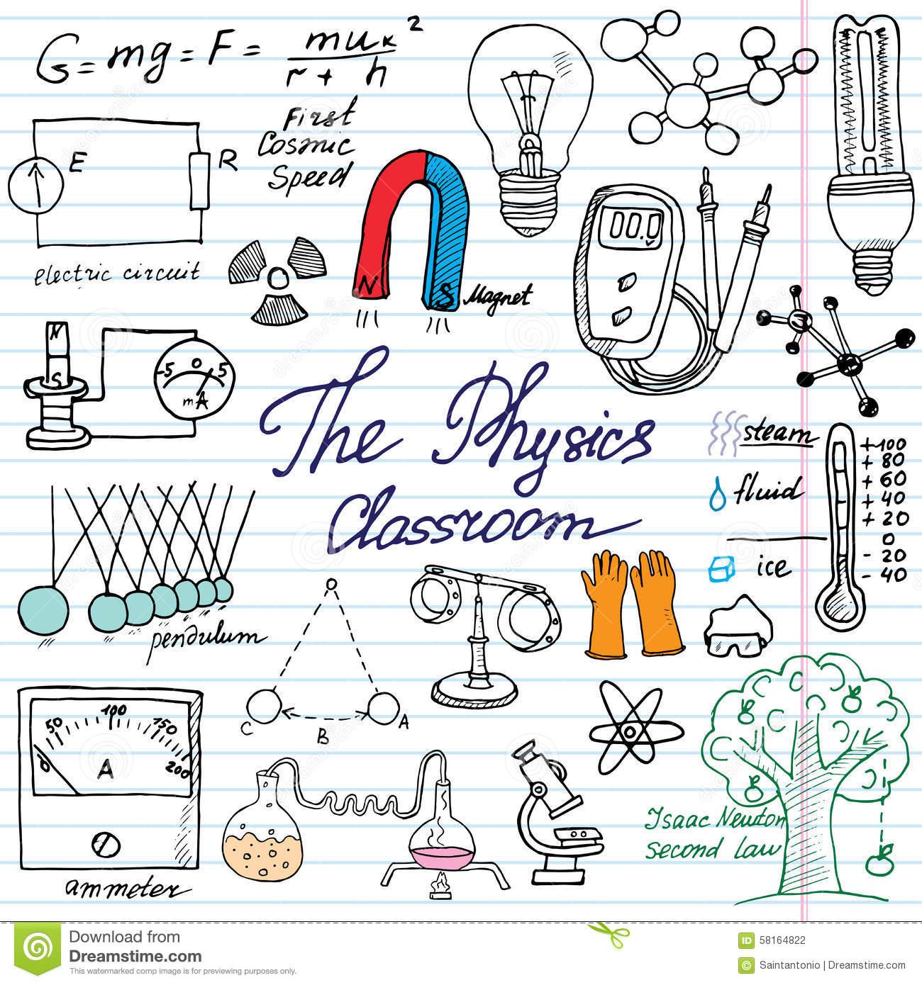 Experimental Physics Clipart