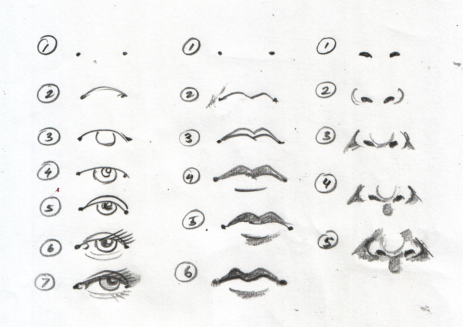 Eyes And Mouth Clipart Drawing 20 Free Cliparts
