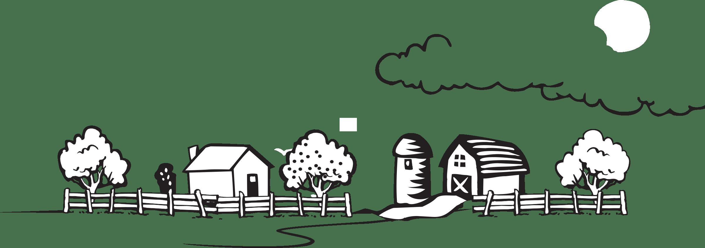 Farm House Cblack And White Clipart 20 Free Cliparts