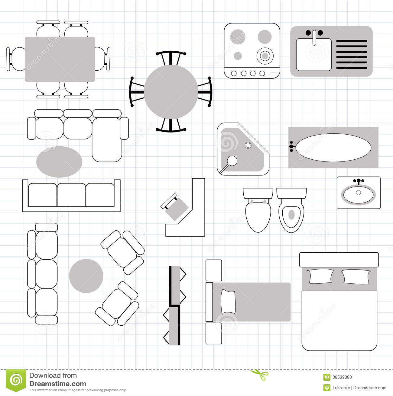 Clipart Furniture Floor Plan 20 Free Cliparts