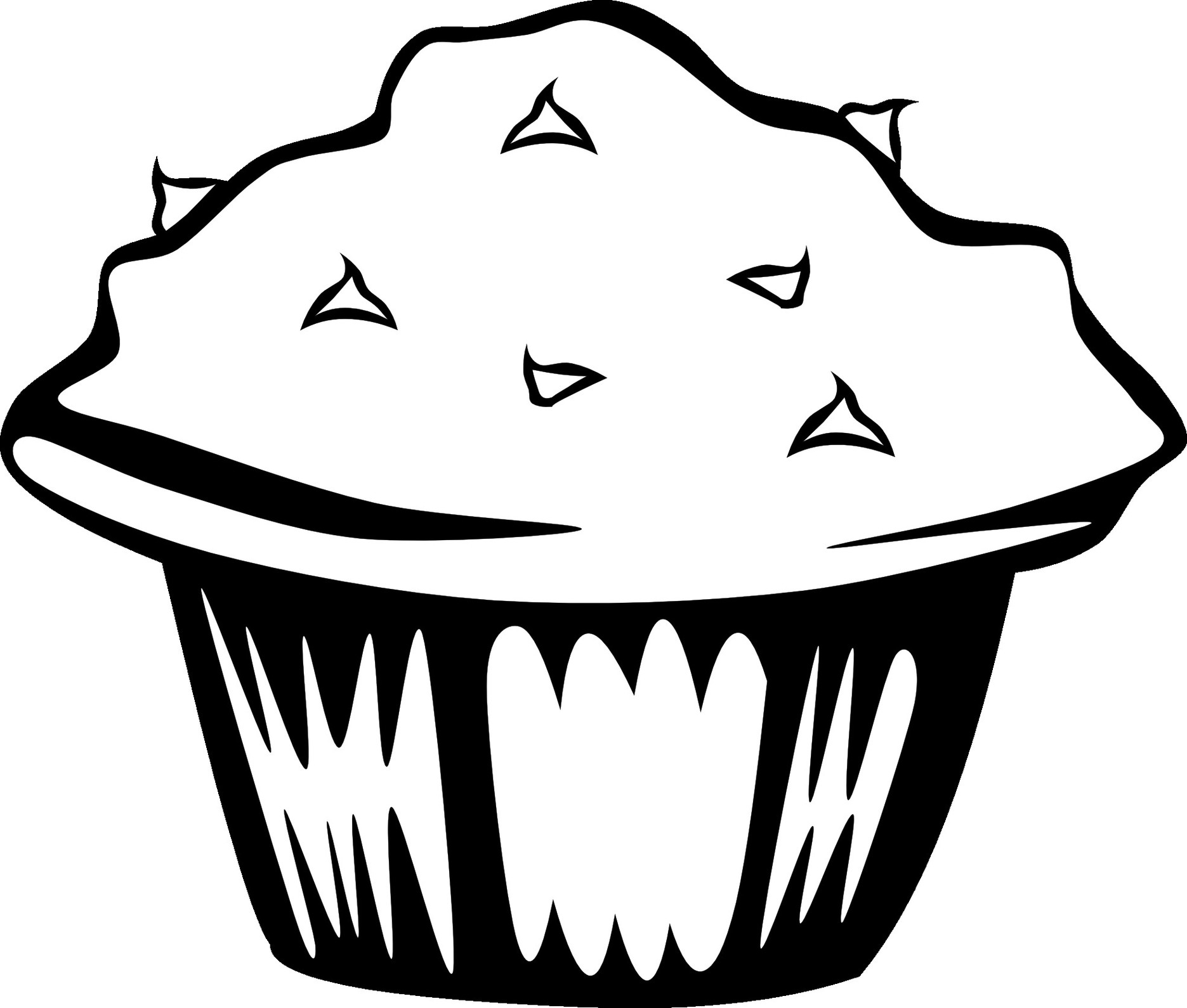 Food Clipart Images Black And White