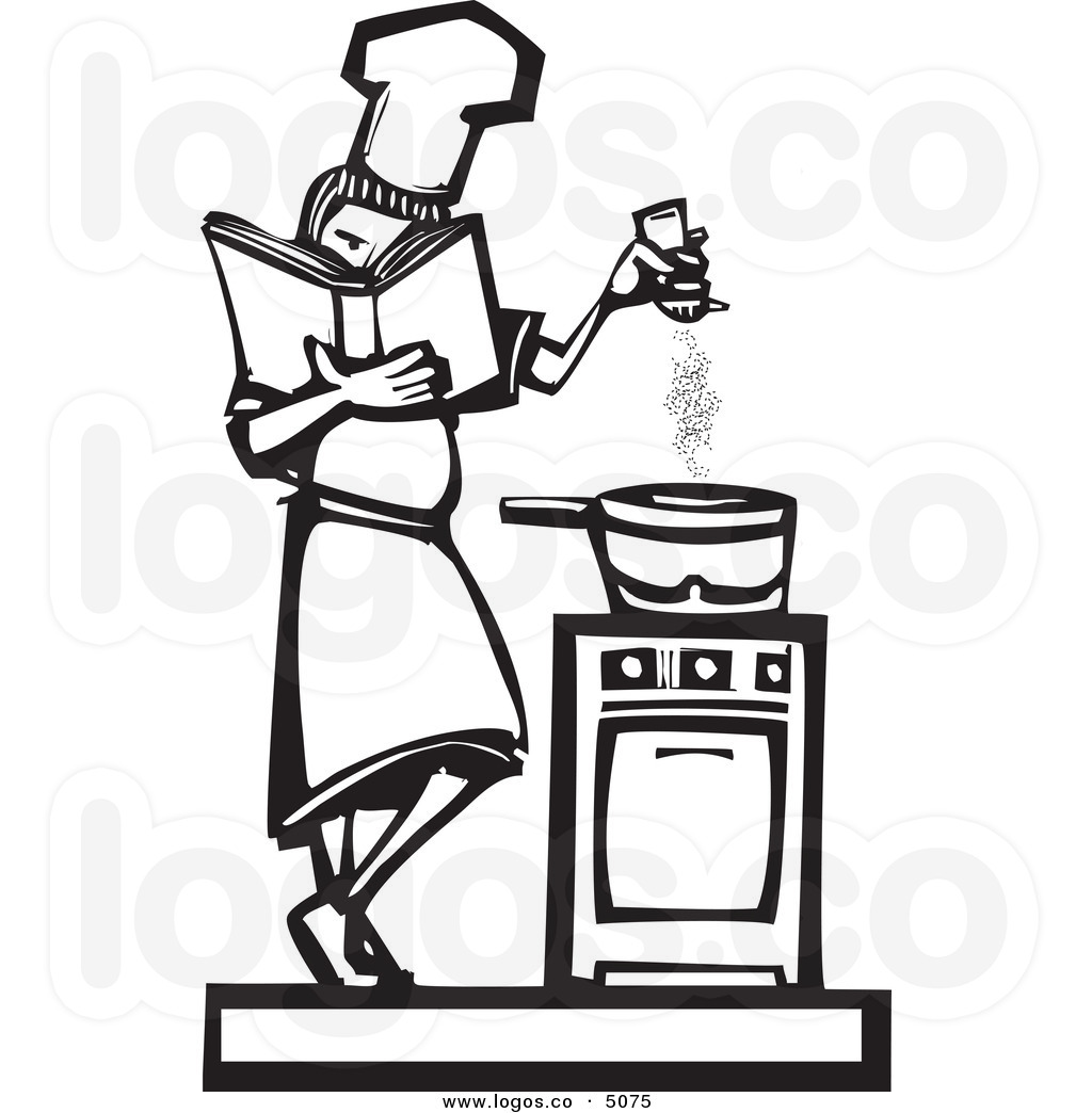 Food Cooking Clipart Black And White 20 Free Cliparts