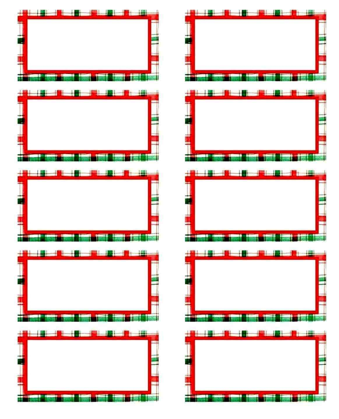 Free Christmas Clip Art For Mailing Labels