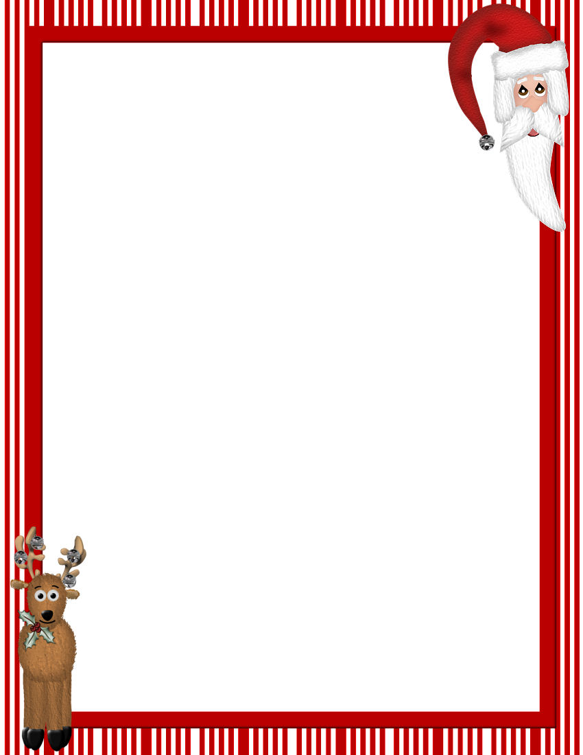 photograph about Free Christmas Clipart Borders Printable identified as Totally free Printable Xmas Frames And Borders