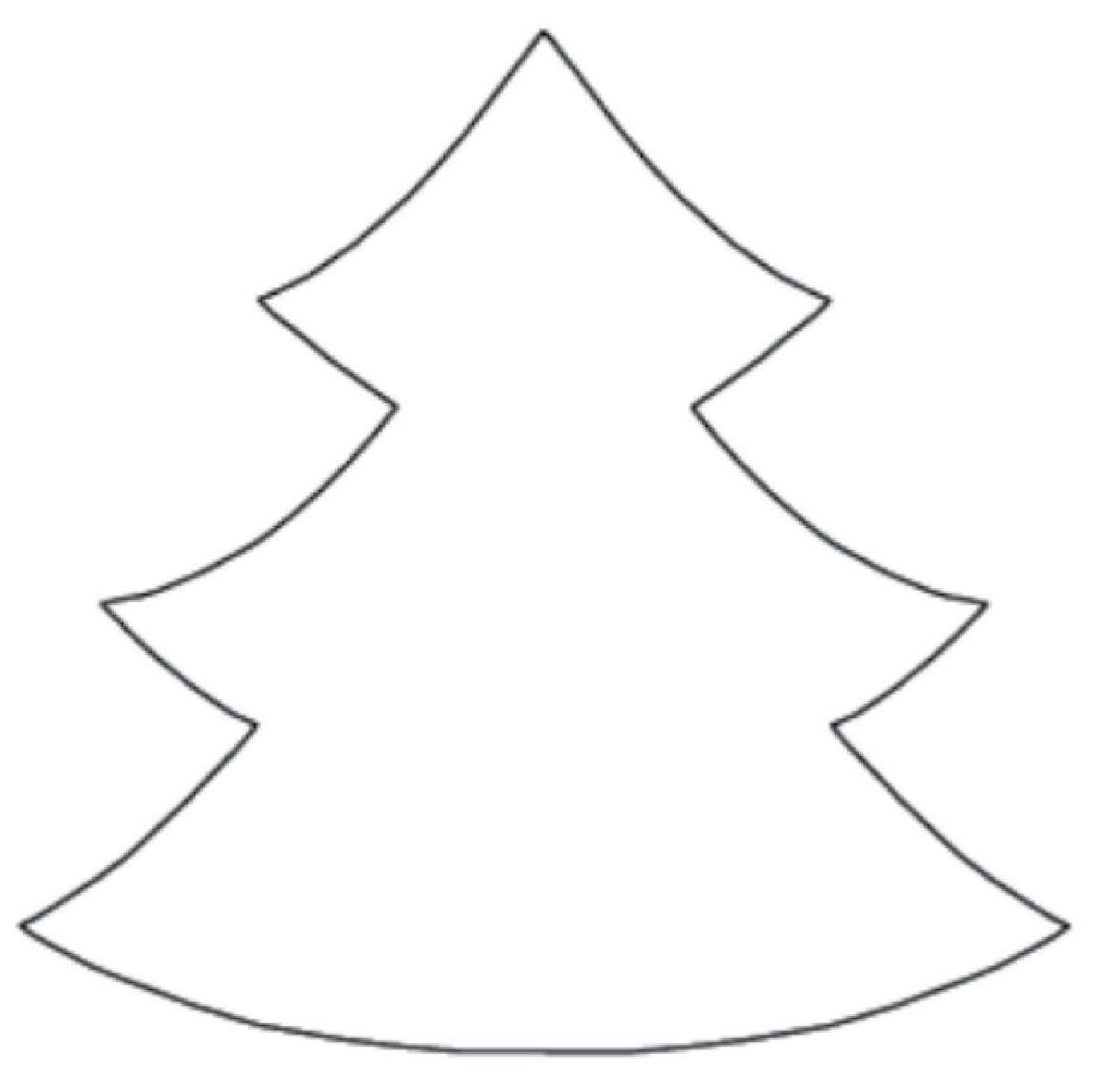 Free Clipart Christmas Tree Outline