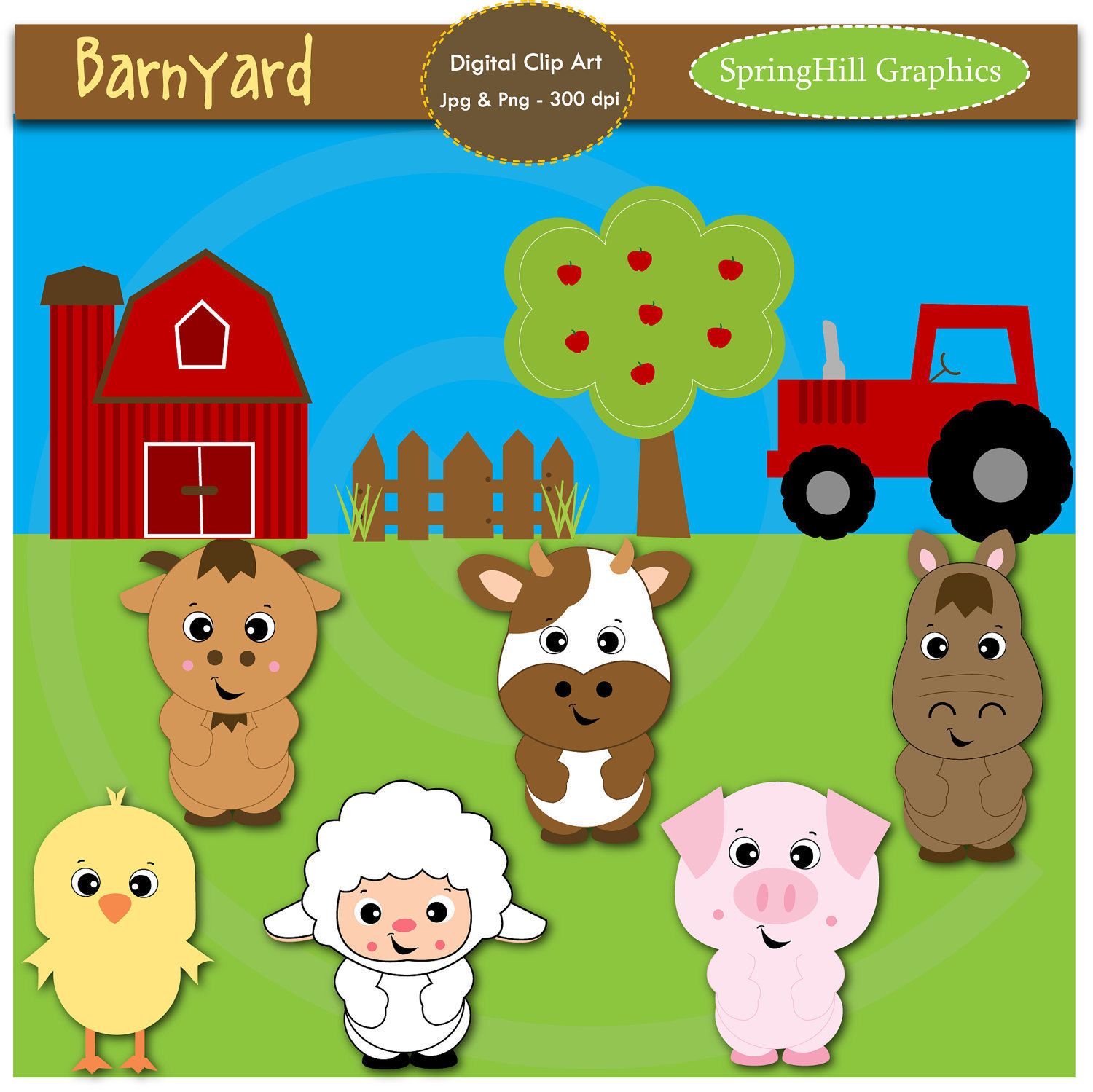 Free Farm Animal Babies Clipart 20 Free Cliparts