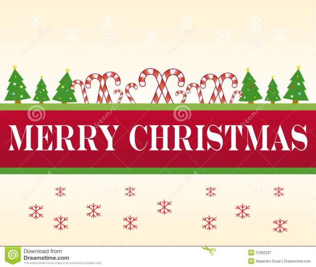 Xmas Banner With Merry Free Merry Christmas Clip Art