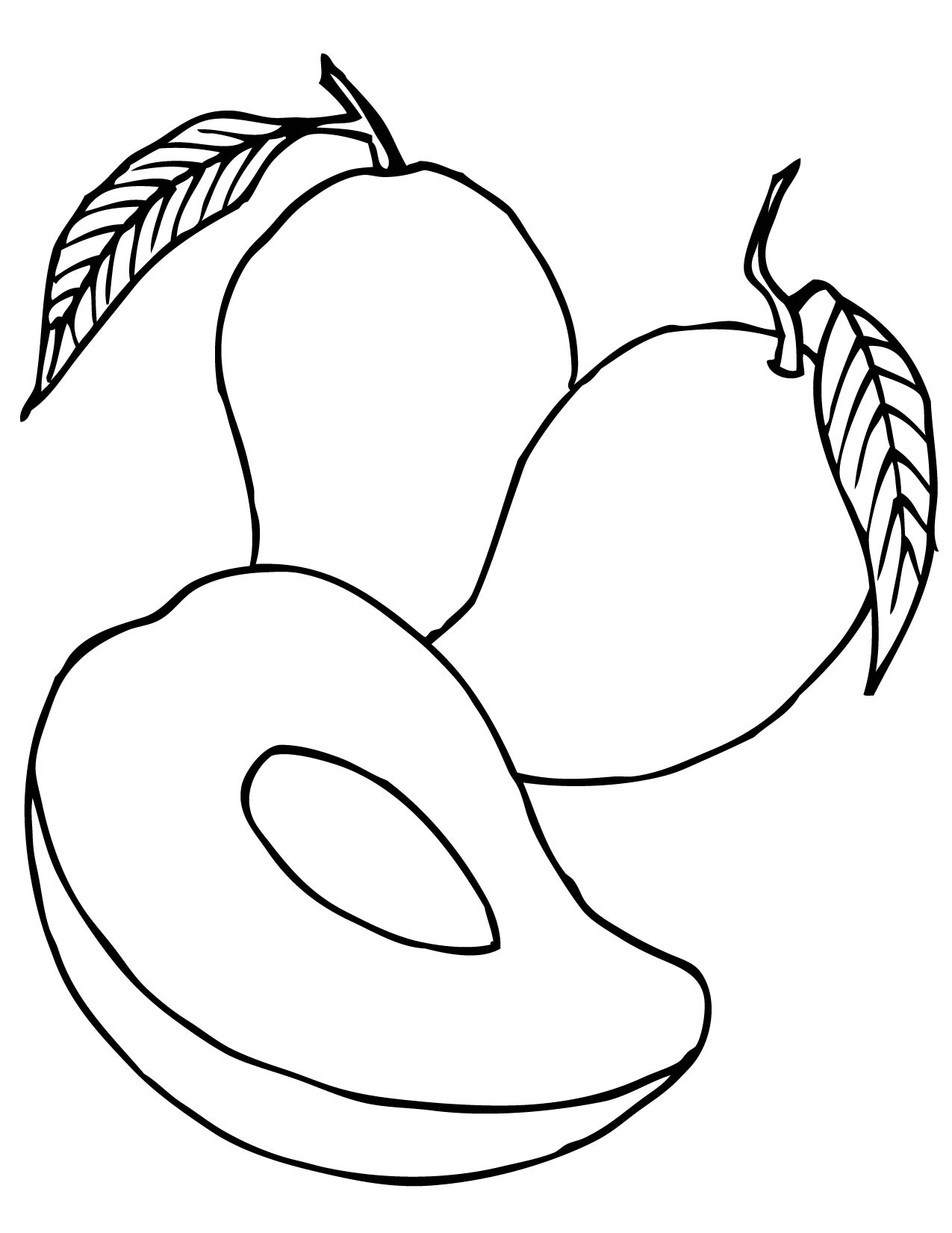 Line Of Fruit Clipart In Color 20 Free Cliparts