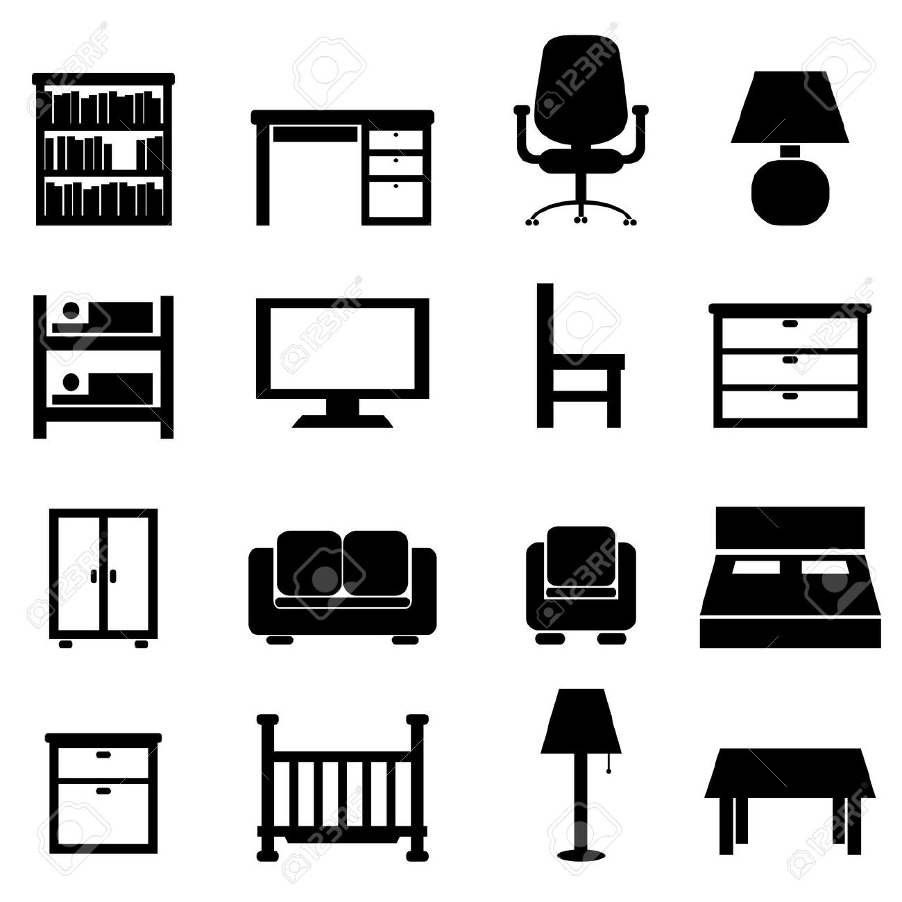 Office Furniture Clipart 20 Free Cliparts