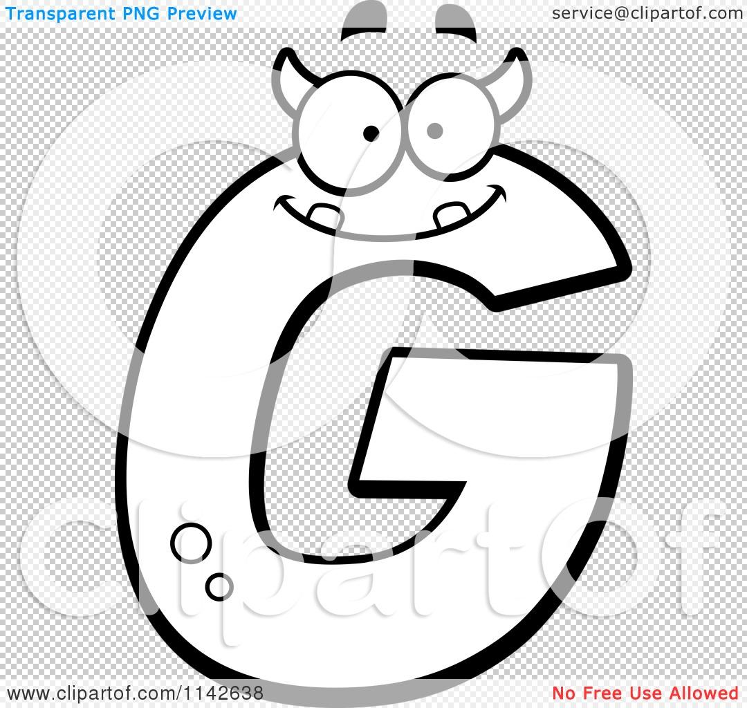 G White Clipart