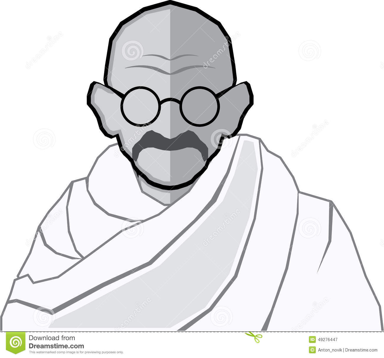 Mahatma Gandhi Clipart